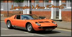 1970 Lamborghini Miura P400S KRX 789H (BIKEPILOT, Thx for + 4,000,000 views) Tags: 1970 lamborghini miura p400s krx789h farnhamfestivaloftransport farnham surrey uk england britain car sportscar classic orange photoshopped photoshop vehicle transport carshow