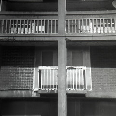 Old Park Hill (pho-Tony) Tags: parkhill fujiacros coronettwelve20 120 6x6 mediumformat 6cmx6cm pseudotlr coronet birmingham uk 1950 colourfiltermodel 2¼×2¼inch 2¼square blackandwhitenegative film rodinal home developing diy black white blackandwhite ishootfilm filmisnotdead fuji acros iso 100 fujiacrosiso100