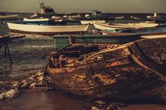 Boats... (hobbit68) Tags: boats boote sonne sommer sonnenschein sunset spanien spain espana espagne andalucia andalusien water wasser meer atlantik hafen port puerto holiday urlaub sand fujifilm xt2