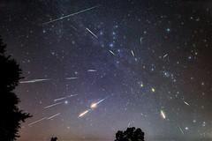 Perseid meteor shower (Sky Noir) Tags: beautiful display clear moonless night composite bright meteors shower stars long exposure astro skynoir