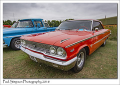 Ford Galaxie 500 (Paul Simpson Photography) Tags: ford fordgalaxie500 american bigcar oldcar classiccar carshow lincolnshire uk england red 1960s 60s paulsimpsonphotography imagesof imageof photoof photosof summer 2018 august vintage musclecar fastcar sonya77 cars