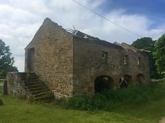 ruined barn (mistdog) Tags: teesdale photoscapex huttonhall barn ruin abandoned tumbledown arches steps