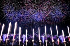 signal (peaceful-jp-scenery (busy)) Tags: fujifilm xt20 xf1855mmf284rlmois fireworks display summer festival kanaya oigawa 大井川大花火大会 夏 祭 花火 金谷 島田市 静岡 日本