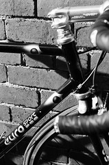 000135860035 (Harry Toumbos Photo) Tags: 35mm film ilford hp5 canon f1 50mmf12l melbourne laneway street art cycling bike road classic retro vintage steel columbus tsx campagnolo shimano dura ace ultegra