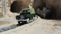 1:76 Scale Diecast Model Land Rover Series II SWB Canvas/Rails Oxford Commercials Rail Track 00 Gauge Railways By Oxford Diecast Limited Swansea Wales United Kingdom 2017 : Diorama Futuristic Quarry - 8 Of 24 (Kelvin64) Tags: 176 scale diecast model land rover series ii swb canvasrails oxford commercials rail track 00 gauge railways by limited swansea wales united kingdom 2017 diorama futuristic quarry