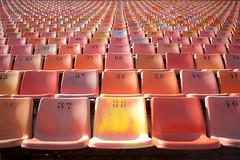 Estadio Pacaembu - SP - Brasil (Celso Takeda) Tags: estadio pacaembu sp cadeiras simetria lugares números brasil
