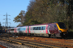 220012, Southampton Central, November 23rd 2017 (Southsea_Matt) Tags: rail railway railroad train passengertravel publictransport vehicle november 2017 autumn canon 80d sigma 1850mm class220 220012 bombardier voyager southamptoncentral hampshire england unitedkingdom dmu dieselmultipleunit arriva crosscountry