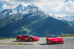 Icons (Gaetan | www.carbonphoto.fr) Tags: ferrari f40 f50 supercars hypercars cars coche auto automotive fast speed exotic luxury great incredible worldcars carbonphoto cavalcade cavalcade2018 ferraricavalcade