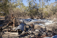 Building Rubble, etc. (oz_lightning) Tags: australia canon6d canonef1635mmf4lis dunlopstation nsw westerndivision decay history outback rural louth newsouthwales aus