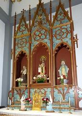 Agulo, Szent Márk-templom (ossian71) Tags: spanyolország spain kanáriszigetek canaryislands lagomera gomera agulo templom church oltár altar műemlék sightseeing