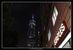 2018.06.23 Freedom Tower rainbow 7 (garyroustan) Tags: ny nyc newyore freedom tower gay pride lgbt month gaypride night usa