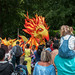 Watching Sheffield Carnival 2018 - The theme was 'Rise of the Phoenix'.