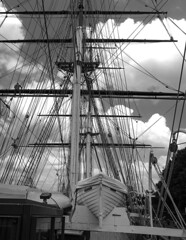 Cutty Sark (shultstom) Tags: greenwich england cutty sark clipper ship ri rigging sale lifeboat deck ships sail tomshults shults