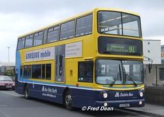 Dublin Bus AV407 (05D10407). (Fred Dean Jnr) Tags: dublin september2006 dublinbus dublinbusyellowbluelivery busathacliath volvo b7tl alx400 croad heustonstationdublin dublinheustonstation dublinbusroute90 transbus av407 05d10407