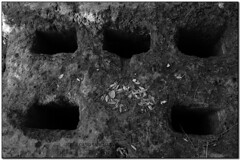 Forn de can Geroni, Bigues (el Vallès Oriental) (Jesús Cano Sánchez) Tags: elsenyordelsbertins fujifilm xq1 catalunya cataluña catalonia barcelonaprovincia cinglesdeberti lavalldeltenes valles vallesoriental biguesiriells bigues forn horno oven sender isme senderismo hiking gebracb bn byn bw