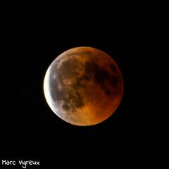 L'Eclipse lunaire du siècle (MarcEnGalerie) Tags: nocturne lune moon nightly eclipse nocturnal lesmilles provence france fra