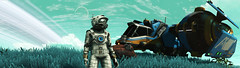 Fathom (D U B L) Tags: nms nomanssky scifi hello games video no mans sky havoc space trees foliage panorama game pc computer graphics outdoor dof photomode gaming photography nvidia gpu 15 next animal tree landscape grass hauler anomaly helmet