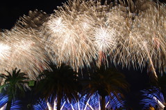 Fireworks, Ito, Japan (runslikethewind83) Tags: fireworks trees japan ito asia festival matsuri night japanese pentax hanabi event