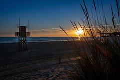 Sonnenuntergang (Nic2209) Tags: andalusien urlaub ferien sommer summer spanien sonne sonnenuntergang meer wasser südküste costadelaluz nic2209 flickr 2018 sonydsc100rxm2 sony strand sand sea sun