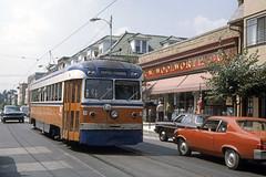 US PA Philadelphia SEPTA-PSTC Red Arrow 6 Brilliner 1979 State St-Media (David Pirmann) Tags: pa pennsylvania philadelphia septa redarrow pstc philadelphiasuburbantransco interurban train trolley tram transit railroad