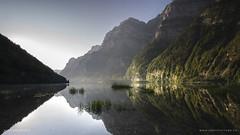 ~ Morgenstimmung ~ -  [Explored #5 August 7th, 2018] - Thank you so much! (SteffPicture) Tags: klöntalersee see morgenstimmung lake sunrise sun sonne spiegelung reflection schweiz glarnerland steffpicture stephanreber switzerland myswitzerland