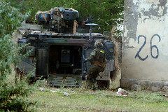 180806-Z-OU450-0626 (U.S. Army Europe) Tags: usarmyeurope strongeurope noblepartner georgiaarmynationalguard 1171stgsab georgianarmedforces readiness vaziani tbilisi georgia partnership alliance armynationalguard training noriotrainingareas gori vazianitrainingarea senaki communityoutreach 3rdsquadron 2ndcavalryregiment 2cr allies m2a3 bradleyfightingvehicle m1a2abrams ukraine combinesurbanoperations ukrainian