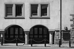 Gwynedd Council Offices (cybertect) Tags: caernarfon carlzeissdistagont35mmf28mm castlestreet dewiprysthomas gwynedd sonya7ii wales architecture blackwhite blackandwhite building council monochrome office