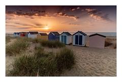 Southwold Sunrise (SimonTHGolfer) Tags: suffolk beachhuts beach southwold landscapephotography landscape eastcoast eastanglia coast simontalbothurnphotography nikon