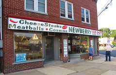 Newberry Sub Shop (Gerry Dincher) Tags: williamsport lycomingcounty pennsylvania centralpennsylvania newberry newberrystreet archstreet jaysburg newberrysubshop subshop cheesesteak hoagies pizza 2002newberrystreet cosmo