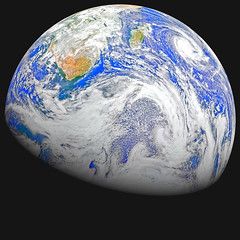 Southern Hemisphere, variant (sjrankin) Tags: 15august2018 22april2015 edited nasa suominpp africa gibbous clouds indianocean cyclone atlanticocean primage antarctica 1847mb large