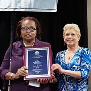 "President Denise Avant receives the Nelson award at the American Bar Association • <a style=""font-size:0.8em;"" href=""http://www.flickr.com/photos/29389111@N07/43331517554/"" target=""_blank"">View on Flickr</a>"