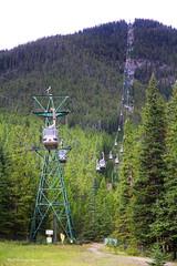 Sulphur Mountain Gondola, Banff National Park, Alberta, Canada (Black Diamond Images) Tags: sulphurmountain mountsulphur bowvalleyviews bowvalley bowriver banff banffnationalpark alberta canada scenictours scenic 2012 banffgondola goldola banfflookout sulphurmountainlookout sulphurmountaincosmicraystation travelalberta albertatravel albertaholiday holidayalberta
