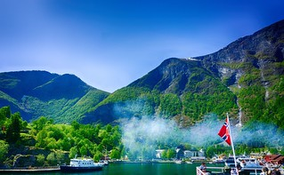 Leaving Flam (Norway-Noruega)