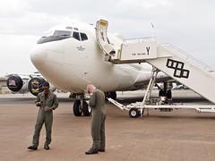 Boeing E-6B Mercury (Nigel Musgrove-2.5 million views-thank you!) Tags: vq4 boeing e6b mercury united states navy riat 2018 raf fairford fleet air reconnaissance squadron 4 tinker force base oklahoma usa shadows