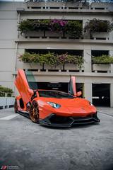 Aracio Argos Orange Lamborghini Aventador LP700-4 - ADV.1 ADV5.3 Track Spec CS Series Wheels (ADV1WHEELS) Tags: aradioargos lamborghini lamborghiniaventador aventador lp700 lp7004 adv1 adv1wheels forgedwheels customwheels lamborghiniwheels