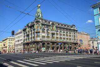 Singer House (Дом компании «Зингер»), St Petersburg, Russia