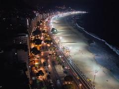 Copacabana by night (Aresio) Tags: copacabana brazil riodejaneiro beach landscape night