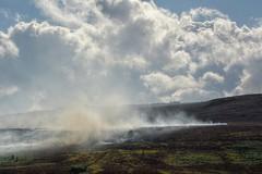 MoorsFire (Tony Tooth) Tags: nikon d7100 nikkor 55300mm moors moorland hdr smoke fire cloud theroaches upperhulme staffs staffordshire heath staffordshiremoorlands