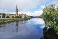 Perth and the river Tay (eric robb niven) Tags: ericrobbniven scotland perthshire perth city rivertay landscape
