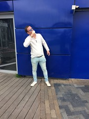 Ísinn. (Moxazza) Tags: ice icing iceland cream white cintamani rap song culture smáralind flexin reppin delicious blue shades neat hair hot outside smooth icon main man