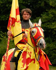 A Knight Prepares to Joust at Loxwood (Puckpics) Tags: sirthomasofloxwood loxwoodjoust loxwood jousting medevilhistory history reenactment actor joust entertainment chivalry competition westsussex england horseback