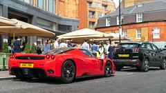 Enzo (Mattia Manzini Photography) Tags: ferrari enzo supercar supercars cars car carspotting nikon v12 d750 red hypercar automotive automobili auto automobile uk england london harrods knightsbridge