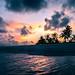 Sunset on the sea - Maldives - Travel photography