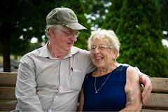 (autoworks31) Tags: bench nikon elderly perfect park portrait couple