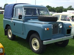 Vintage Series 2 ? Blue SWB Land Rover Enfield Pageant Of Motoring (beetle2001cybergreen) Tags: vintage series 2 blue swb land rover enfield pageant of motoring
