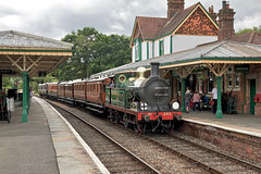 Vintage Working (Deepgreen2009) Tags: steam uksteam preserved victorian old carriages vintage edwardian secr lswr railway station train england bluebell line time heritage historical