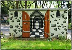 Öffnet die Türen... (rasafo66) Tags: duisburg martendalimont streetart graffiti nrw nordrheinwestfalen deutschland germany sonyalpha58 tamron1750