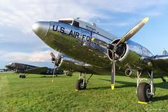 C-47 Skytrain (dpsager) Tags: 2018 c47 dpsagerphotography douglasc47skytrain eaaoshkoshairshow metabones military missvirginia oshkosh wwii wisconsin aircraft airplane airshow osh18