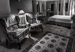 That Room ...   ; (c)rebfoto (rebfoto ...away on a break ...) Tags: rebfoto room thatroom bed windows curtains nightphotography interiorphotography architecturalphotography thisoldhouse