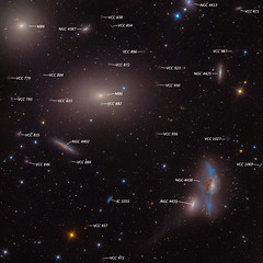 M86 in the Central Virgo Cluster (Meme Genie) Tags: astronomy awesome currentevents scienceandtech space